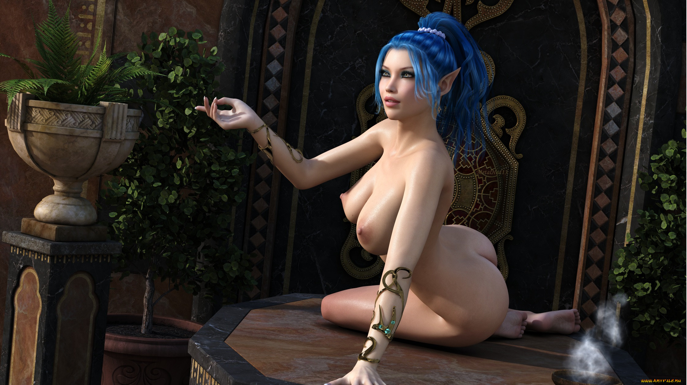 Fantasy sexy 3-dimensional art naked download